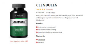 Clenbulen – Fat Burner Builds Muscle