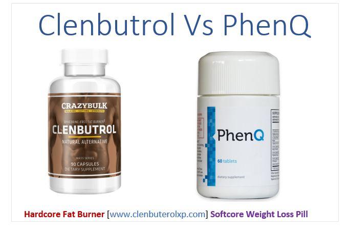 Clenbutrol vs Phenq - product comparison