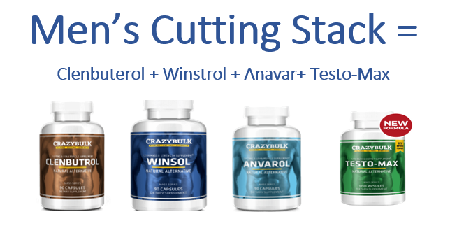 Clebuterol, winstrol, anavar and testo-max is the ultimate cutting stack for men