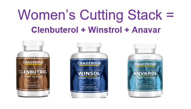 Clenbuterol, Winstrol & Anavar is the ideal cutting stack for women